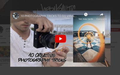YOUTUBE #1 – 10 PHOTOGRAPHY TRICKS TO GO VIRAL by Jordi Koalitic